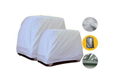 2 Passengers Golf Cart Cover For Yamaha EZ-GO Club Car Storage Two Sizes car