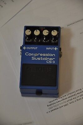 Boss Compression Sustainer CS-3 GUITAR AND BASS EFFECT PEDAL