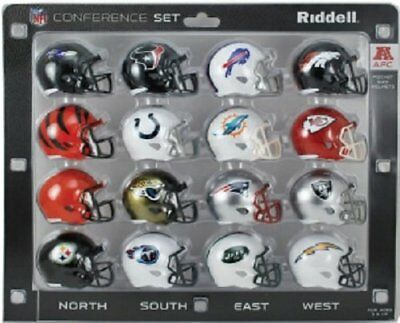 NFL Speed Pocket Helmet AFC Conference Set