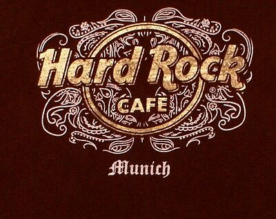 Hard Rock Cafe Munich, Germany Womens Juniors Medium T- Shirt