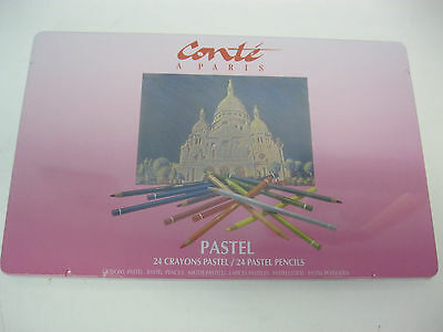 CONTE PASTEL PENCILS KIT 24 PCS  Made in France