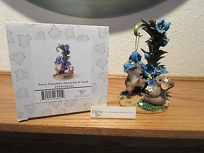 Charming Tails Pretty Parachute Ornament & Stand