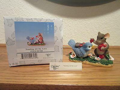 Charming Tails Sending All My Love Figurine