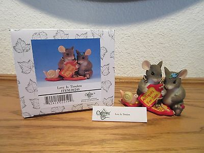 Charming Tails Love is Timeless Special Edition Figurine