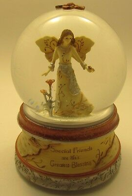 """Elements """"Special Friends"""" Musical Water globe - That's What Friends are For - I"""
