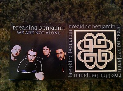 Breaking Benjamin promo sticker for 2004 cd release RARE 2 stickers