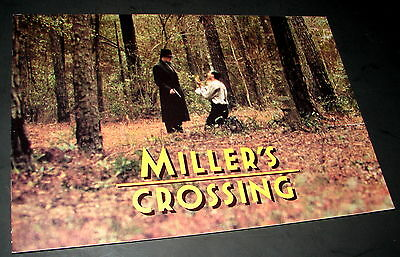 1990 Coen Brothers Movie MILLER'S CROSSING Character Introduction Press Booklet