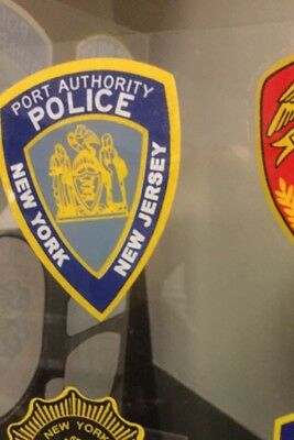 """NY NJ Port Authority Police InWindshield """"Real"""" Decal  **Others Available"""
