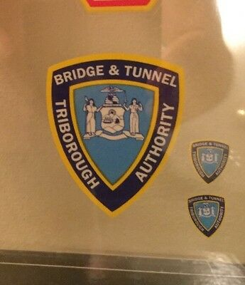 """Bridge & Tunnel Authority InWindshield """"Real"""" Decal  **Others Available"""