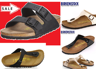 BIRKENSTOCK ARIZONA Black or Arizona Soft Footbed ALL SIZES or Gizeh Black 35-46