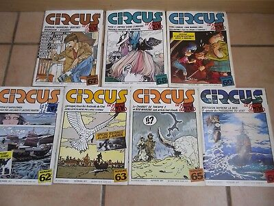 Circus, Magazine BD: Lot 3 de 7 n°.