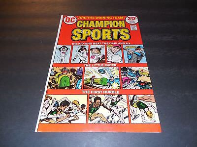 Champion Sports #1 Nov 1973 Bronze Age DC Comics Sports Comic Book       ID:6610