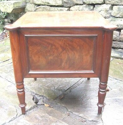 Victorian Mahogany Stool Commode - Superb Condition - 49cm W x 44cm D x 48cm H
