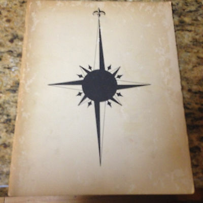 Seahorse USC Trojans NROTC Yearbook University Southern CA -1954