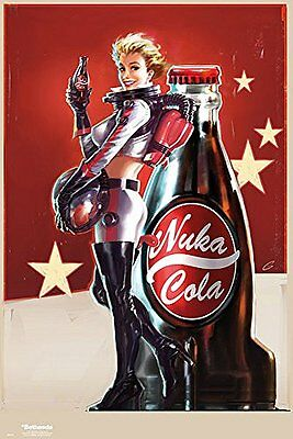 Fallout 4 Nuka Cola Advert Gaming Maxi Poster Print 61x91.5cm   24x36 inches
