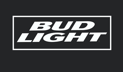 BUD LIGHT Vinyl Die Cut Decal (7 Sizes available)