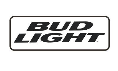 BUD LIGHT V2Vinyl Die Cut Decal (7 Sizes available)