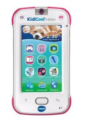 Vtech Kidicom Max Pink Wireless Smart Phone Mobile Messages Photos Pictures