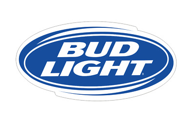 BUD LIGHT V3 Vinyl Die Cut Decal (7 Sizes available)