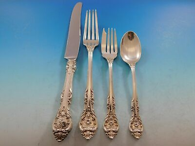 King Edward By Gorham Sterling Silver Dinner Size Place Setting(s) 4pc
