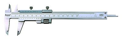 "Starrett 125MEAW-5/130 Vernier Caliper w/ Fine Adjustment 130mm/5"" 0.02mm/0.001"""
