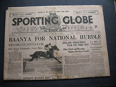 Sporting Globe   4 July 1943 Baanya