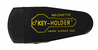 Large Magnetic Hide-A-Key Holder for Over-Sized Keys - Extra-Strong Magnet