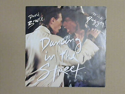 "David Bowie & Mick Jagger - Dancing In The Street (7"" Vinyl Single; Black Label)"