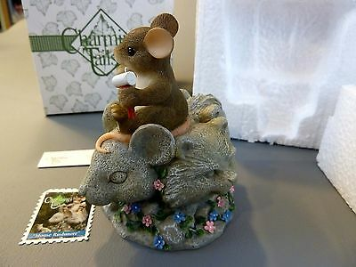 Charming Tails 82/115 - Mouse Rushmore - New in Box!!