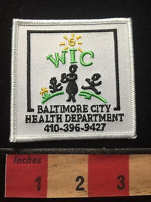 Baltimore City Health Department WIC Maryland Patch 69Y2