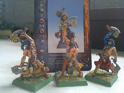 Confrontation-Keltois-Kelt Warriors-Painted-Rackham