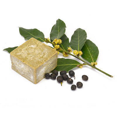 Traditionally Made %100 Laurel Oil Antique Aleppo Daphne Soap Natural Organic