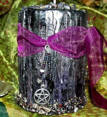 Temple Candle Dressed Large Pillar Magick Wiccan Supplies Occult Metaphysical