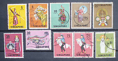 Singapore Stamps 1968 Used