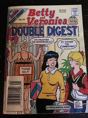 Betty And Veronica Double Digest No.105 May 2002 Collectable Comic Book Magazine