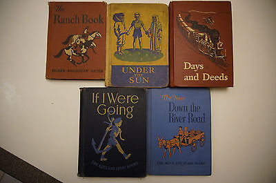 Lot 5 school readers The Ranch Book  New Down Under The Sun   If I Were Going