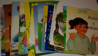 Lot of 20 Spanish Books for Children or Children's Spanish Books Brand New S7