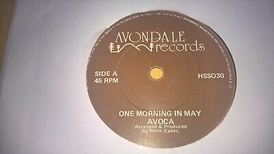 "AVOCA - One Morning In May - IRISH FOLK TRAD 7"" IRELAND"