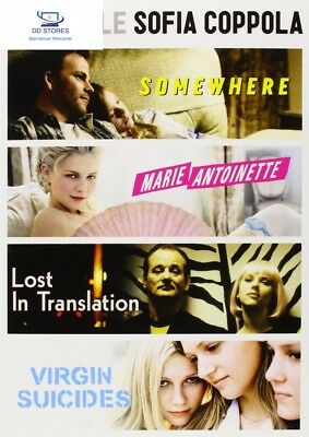 Coffret sofia coppola ; somewhere ; marie-antoinette ; lost in translation ;...