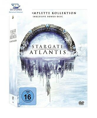 Stargate Atlantis - Complete Box [Edizione: Germania]