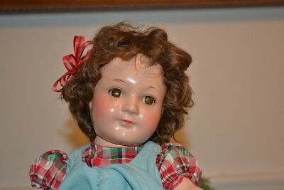 """JANE WITHERS MADAME. ALEXANDER COMPO DOLL 12-13"""" Tall W/CLOSED MOUTH 1937-39"""