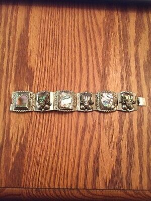 Abalone Bracelet Made In Mexico
