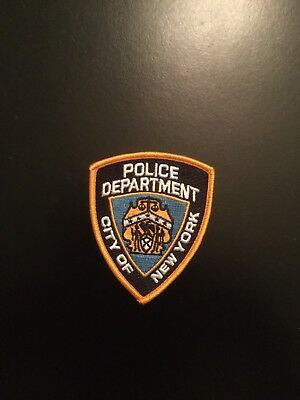 NYS State City of NY Police Department Patch (iron-on)