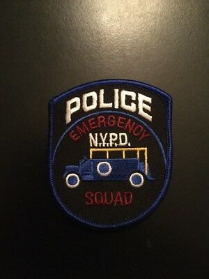 NYS City of NY Police Emergency Service Patch (iron-on) **Others Available