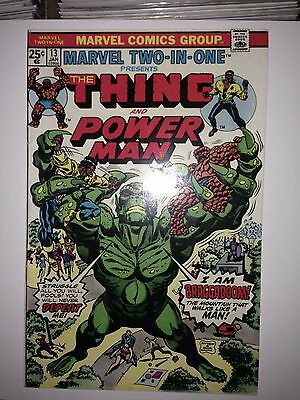 Marvel Two-in-One #13 (1975) FN (Power Man)