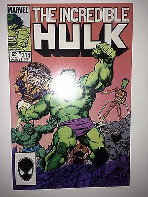 Incredible Hulk #314 (1985) VF (Start of short Byrne run)