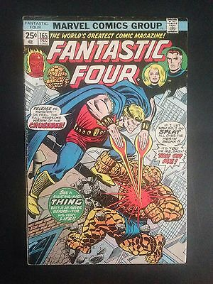 Fantastic Four #165 (1975) FN Death of the Crusader