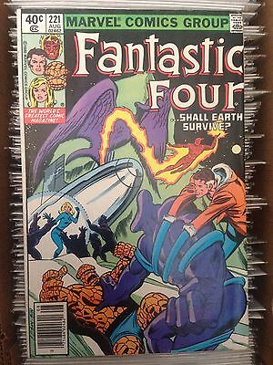 Fantastic Four #221 (Aug 1980, Marvel) FN+
