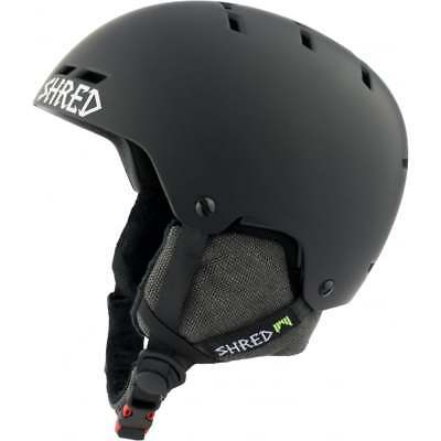 Shred Helmet Bumper No Shock - Blackout Black, Size Medium