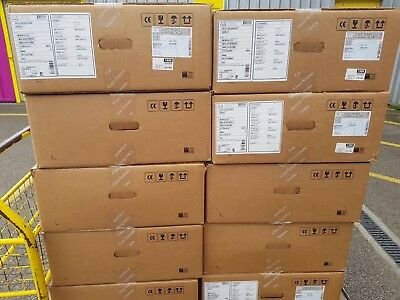 New Sealed Cisco WS-C3850-24XUW-S + C3850-NM-2-10G+ 2x PWR-C1-1100WAC+AP Licence